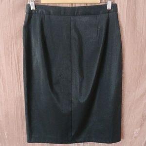 BCBG pencil skirt shiny Max Azria